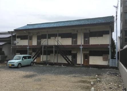 木造アパート建物